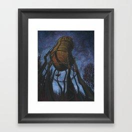 Prescott Water Tower Framed Art Print