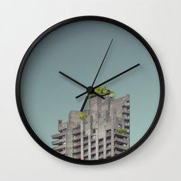 LND CLR X-5 London Colour Architecture Art Wall Clock