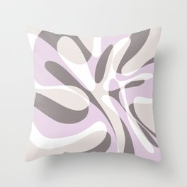 Blushing Wave Throw Pillow