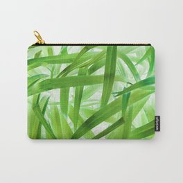530 - Abstract Grass design Carry-All Pouch