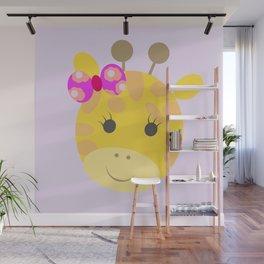 jirafa cata Wall Mural