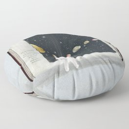 the big book of stars Floor Pillow