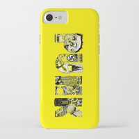punk iPhone & iPod Cases featuring PUNK by René Barth