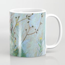 Burdock leaves and autumn herbs Coffee Mug