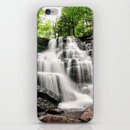 Waterfall Ricketts Glen State Park, PA iPhone Skin
