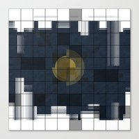 square Canvas Prints featuring Square by thinschi