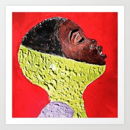 Lemonworld Art Print