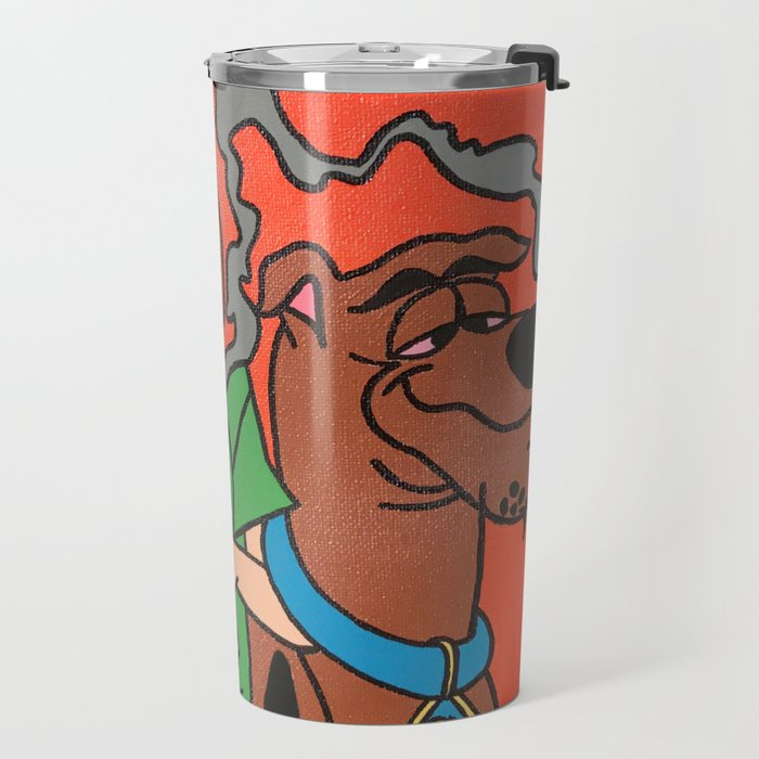 """Mans Bestfriend"" Travel Mug"