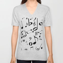 Music in the Air Unisex V-Neck
