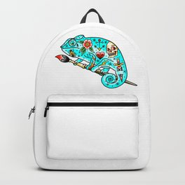 Tattooed Chameleon Backpack