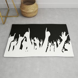 Audience Poster Background Rug