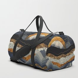 Metallic Mountains Duffle Bag