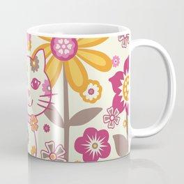 Garden Cat Coffee Mug