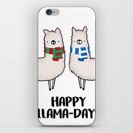 Happy Llama-Days iPhone Skin