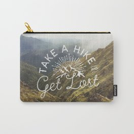 TAKE A HIKE and get lost Carry-All Pouch