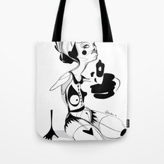 I hope that you don't hate me by now - Emilie Record Tote Bag