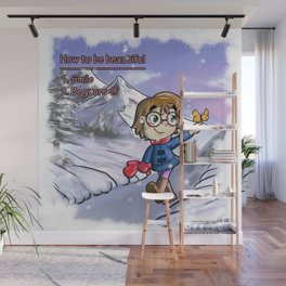 How to be beautiful Wall Mural
