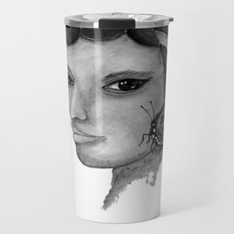 THE INDIAN WOMAN  / ORIGINAL DESIGN FROM bykazandholly  Travel Mug