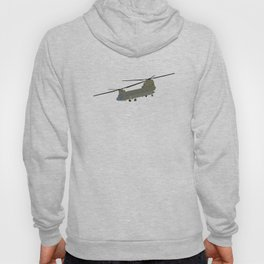 Military CH-47 Chinook Helicopter Hoody