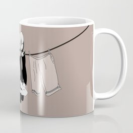 Buster Keaton Hello Neighbor! Coffee Mug