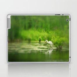 Marsh Egret 2 Laptop & iPad Skin