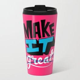 Make It Metal Travel Mug