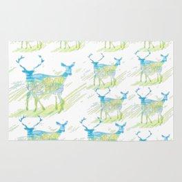 Deer Pattern Rug