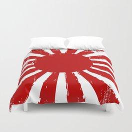 Japan Rising Sun Duvet Cover
