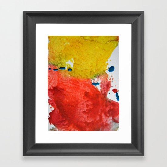 Colorfield Framed Art Print