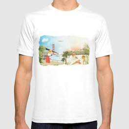 San Francisco + Los Angeles T-shirt
