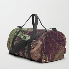 Red rocks in the forest V Duffle Bag