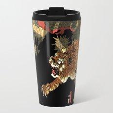 Sadahide's Dragon And Tigers Travel Mug