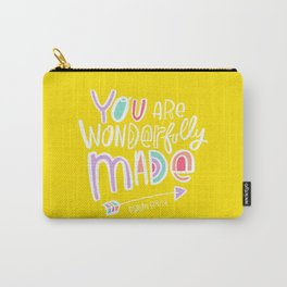 You are Wonderfully Made Carry-All Pouch