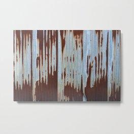 Northport Stripes (23blue) Metal Print