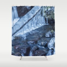 Ice and Water, No. 3 Shower Curtain