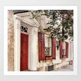Charleston French Quarter Art Print