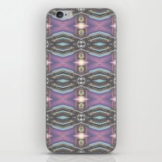 Lavender Chrome iPhone Skin
