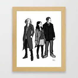 elementary: the diabolical kind Framed Art Print
