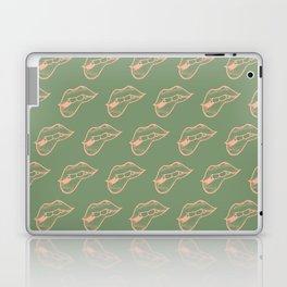 Licking Lips Laptop & iPad Skin