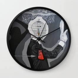Black series IV - Why Does It Always Rain On Me? Wall Clock