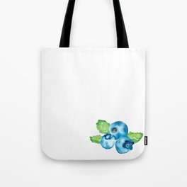 Watercolour Blueberry Tote Bag
