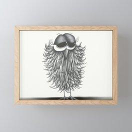 Ester the Owl Framed Mini Art Print
