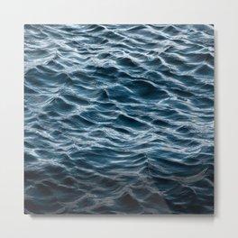 Ocean Prints, Wave Art Metal Print