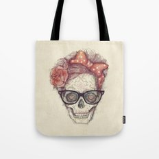Hipster Girl is Dead Tote Bag