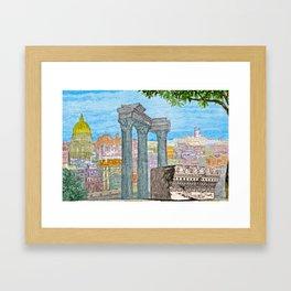 Ancient Italy Framed Art Print
