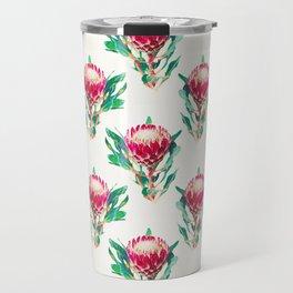 Vintage Protea  Travel Mug