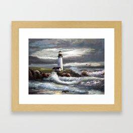 Beam of Hope Framed Art Print