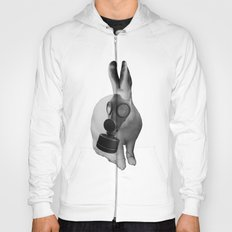 gas mask rabbit Hoody