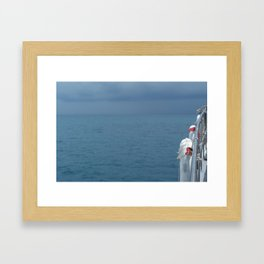 I can't remember if we were coming or going Framed Art Print