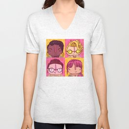 Homage to Female Ghostbusters Unisex V-Neck